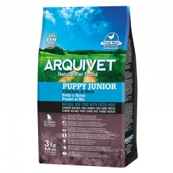 Arquivet Dog Puppy Junior / Pollo y Arroz 3 kg