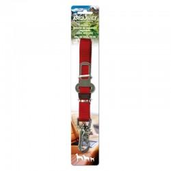Tirador cinturon seguridad regulable Rojo - 45-70 cm