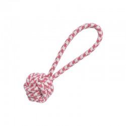 Nudo con tirador rosa