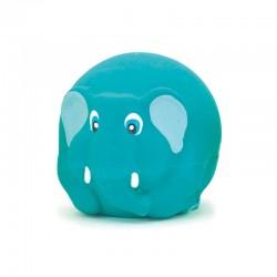 Elefante azul látex 7cm