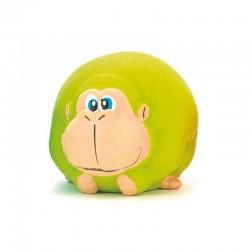 Mono verde de látex