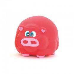 Cerdo rosa látex 7cm