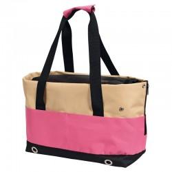 Transportín rosa - 40 x 22 x 28 cm