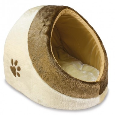 "Cueva para gatos ""DREAM""  41x42x26cm BEIGE-MARRON"