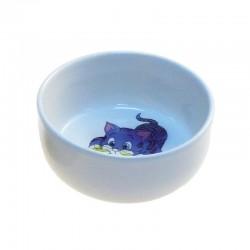Comedero ceramica gatitos 0,3L 11cm.