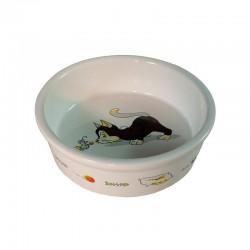 Comedero ceramica Gatito - 12 cm