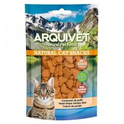 Snack gato - Corazones de pollo 50g