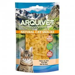 Snack gato - Filetes de atun 50g