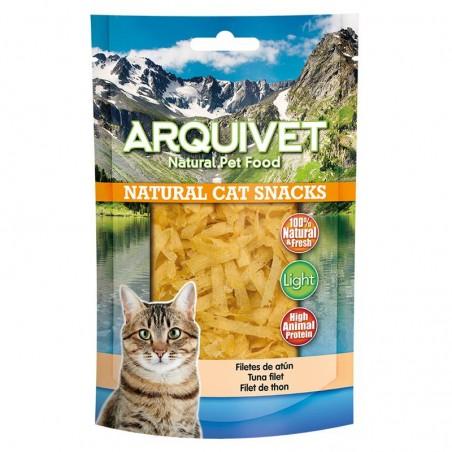 Snack gato - Filetes de atun 50g