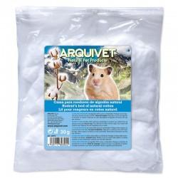 Algodon para hamsters blanco 30gr