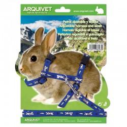 Petral ajust. estampado conejo