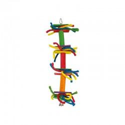 Lazos de colores y campana-  13 x 45 cm