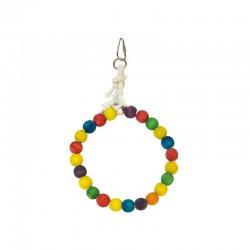 Aro de bolas de colores-  16 x 25 cm