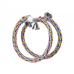 Aros de colores y campana extendido 120 cm , diáme: 1,2 cm