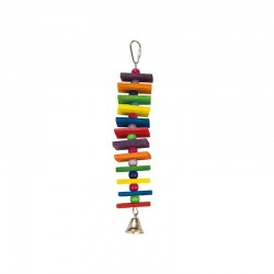 Escalera multicolor- 1 campana- 5 x 25 cm