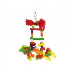 Escalera multicolor sin campana- 10 x 25 cm