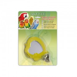 Espejo amarillo con campana 10,5x9x1 cm