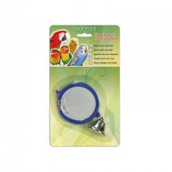 Espejo azul con campana 10,5x9x1 cm
