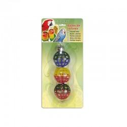 Bolas colores 16x4,5cm