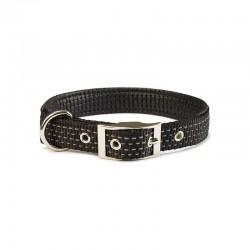 Collar nylon liso negro - 1,5 x 38 cm