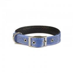 Collar nylon liso azul cielo - 1,5 x 38 cm