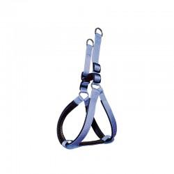 Arnes nylon liso azul cielo 2.5 x 55-75 cm