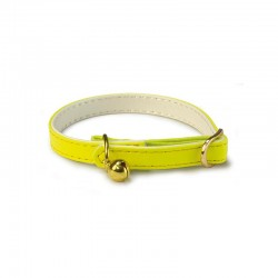 Collar reflectante amarillo 1 x 30 cm