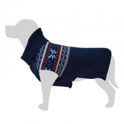 Jersey lana azul 20 cm.