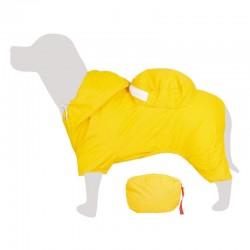 Impermeable con bolsillo amarillo 25cm