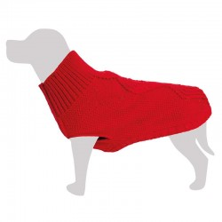 Jersey Terry lana rojo 20cm