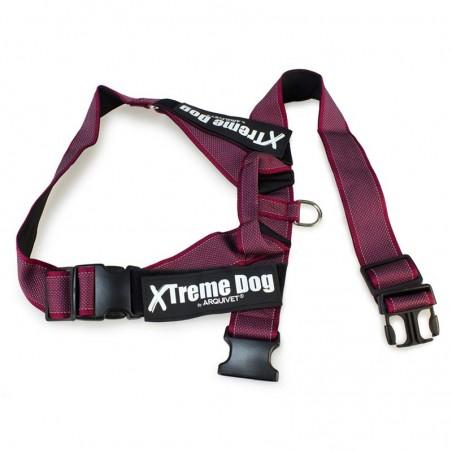 Arnés Xtreme CLASSIC Dog Rosa L (63-81cm)