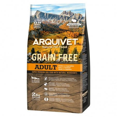 Arquivet Dog Grain Free Turkey 2kg