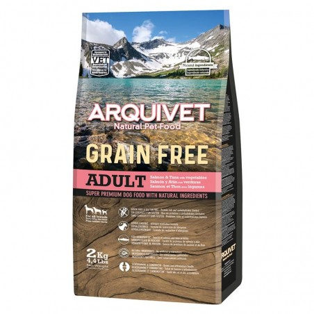 Arquivet Dog Grain Free Salmon 2kg