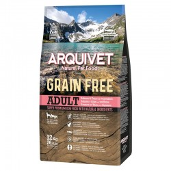 Arquivet Dog Grain Free Salmon 12kg