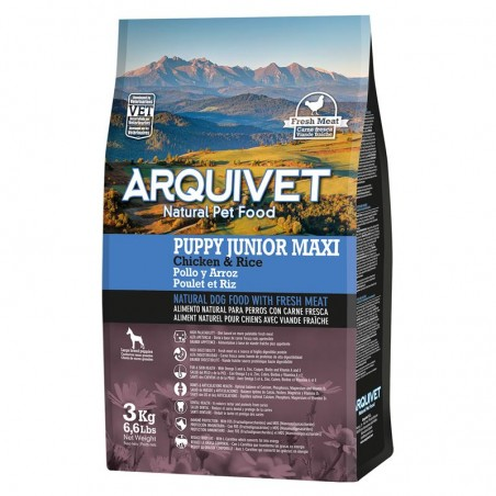 Arquivet Dog Puppy Junior Maxi 3 kg