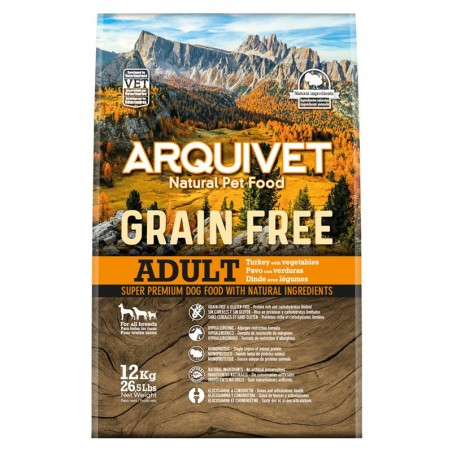 Arquivet Dog Grain Free Turkey 2kg