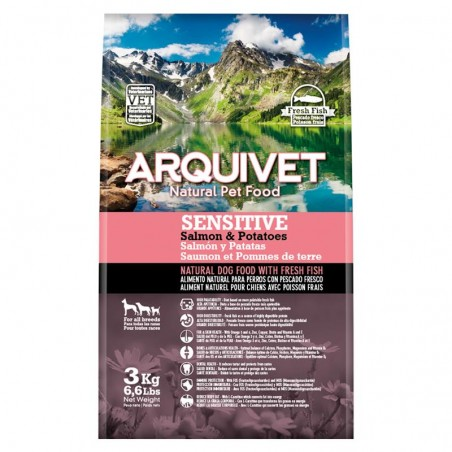 Arquivet Dog Sensitive Salmon & Potato 3 kg