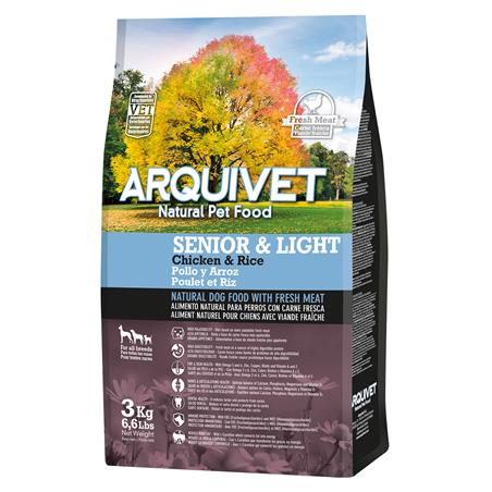 Arquivet Dog Senior & Light 3 kg