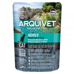 Arquivet Cat Adult White Fish & Tuna 350gr