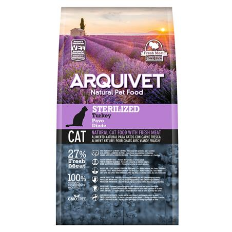 Arquivet Cat Sterilized Turkey 1,5kg