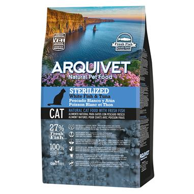 Arquivet Cat Sterilized White Fish & Tuna 1,5kg