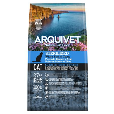 Arquivet Cat Sterilized White Fish & Tuna 1,5kg