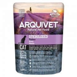Arquivet Cat Sterilized Turkey 350gr