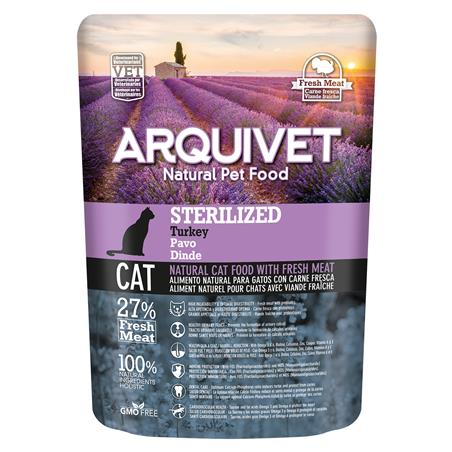 Arquivet Cat Sterilized Turkey 350gr
