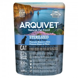 Arquivet Cat Sterilized White Fish & Tuna 350gr