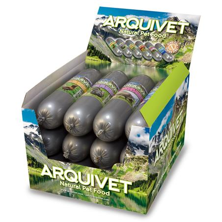 Arquivet Natural Wet TERNERA y Verduras 500 g