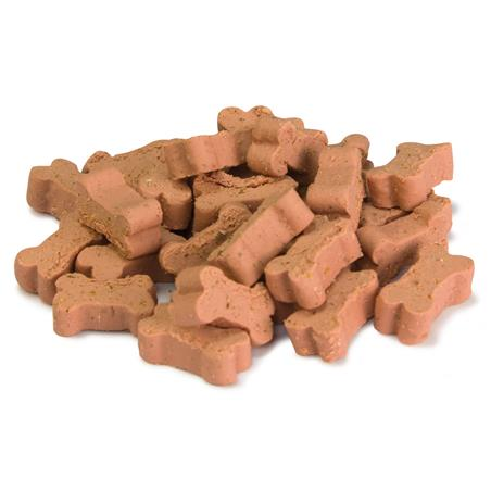 Soft snacks huesitos salmon 100 grs.