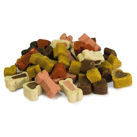 Soft snacks huesitos y corazones mix 100 grs.