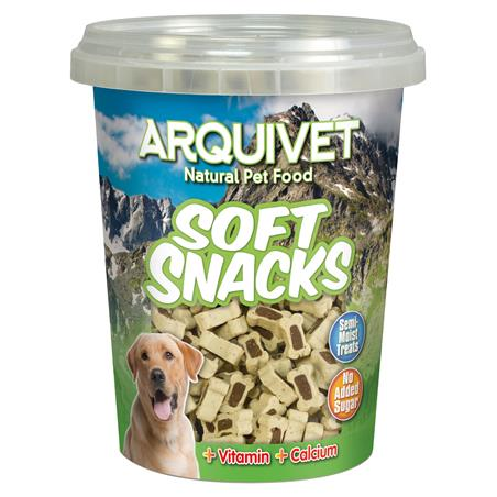 Soft snacks huesitos duo cordero-arroz 300 grs.