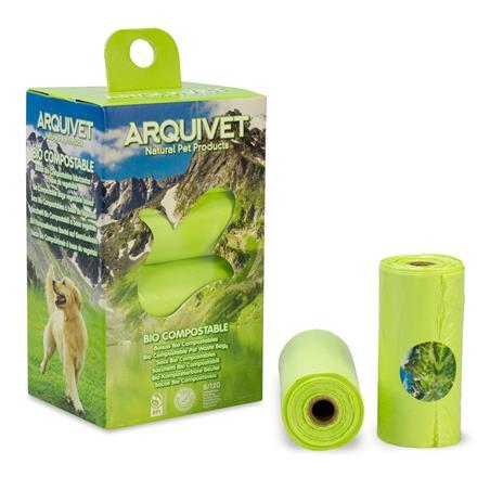 Bolsas Biocompostables (8 rollosx15 bolsas)